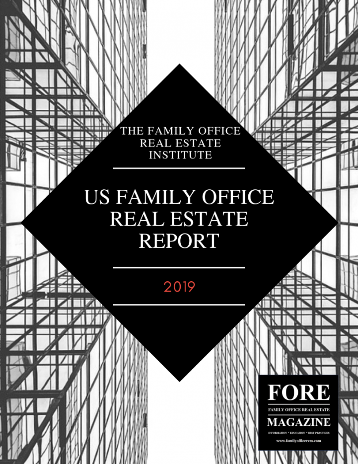 2019 Family Office Real Estate Report
