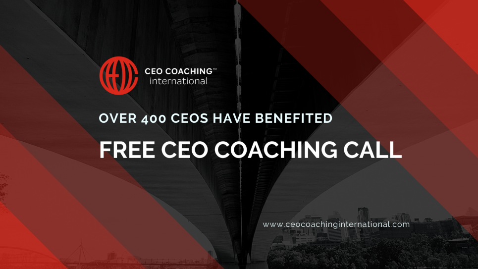 Over 400 CEOs have had a free coaching session.